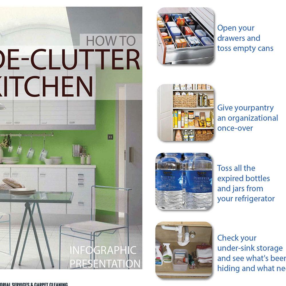 How To De-Clutter Kitchen?